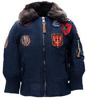 Дитяча куртка-бомбер Top Gun Kids B-15 Bomber Jacket TGKB15 (Navy)