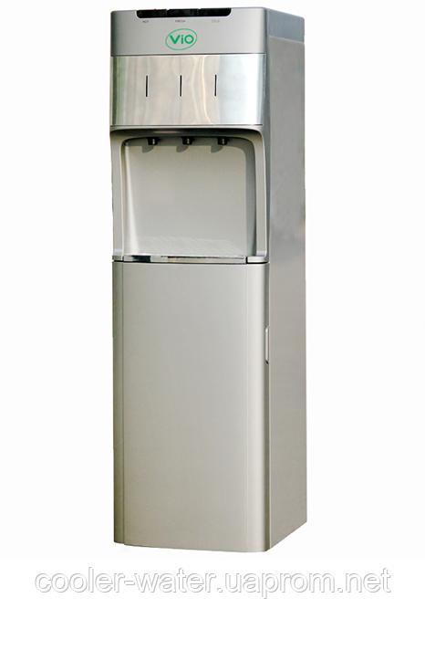 Кулер для воды напольный с нижней загрузкой ViO X1185-FCB Silver Электронный