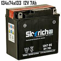 Аккумулятор 7Ah 12V Skyrich 12N7-BS SLA 134x74x133