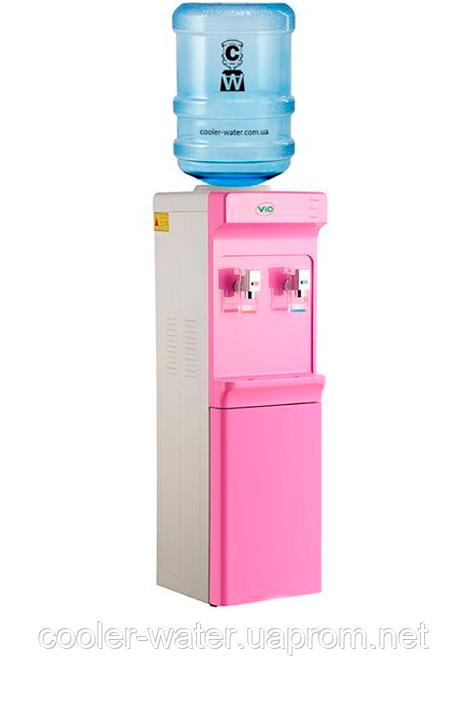 Кулер для воды ViO X83-FCC Rose со шкафчиком