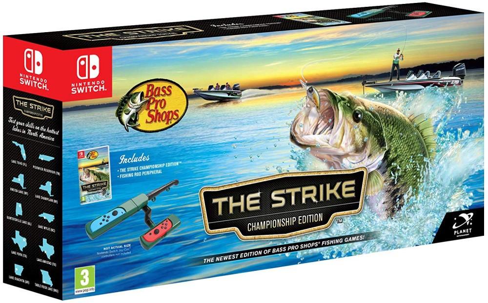 Bass Pro Shops The Strike (англійська версія) Ninteno Switch + Вудка