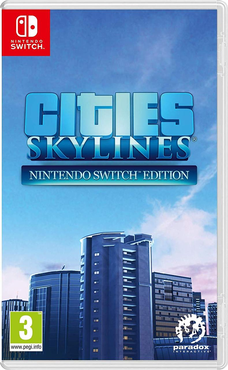 Cities Skylines (з російськими субтитрами) Nintendo Switch