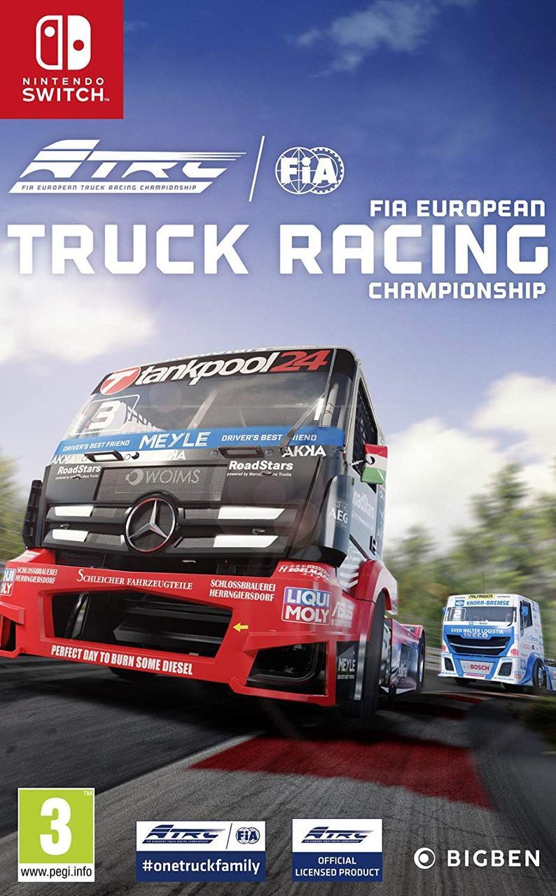 FIA Truck Racing Championship (англійська версія) Ninteno Switch
