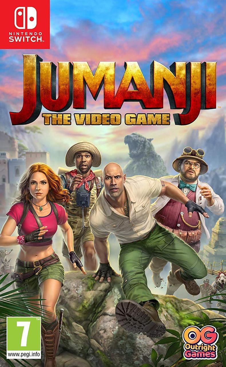 Jumanji The Video Game (з російськими субтитрами) Nintendo Switch