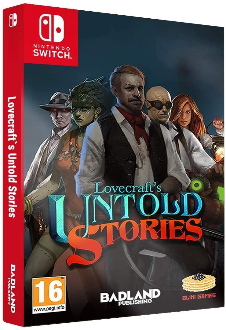 Lovecrafts Untold Stories Collectors Edition (з російськими субтитрами) Nintendo Switch