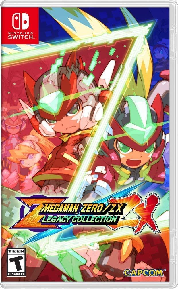 Mega Man Zero/Zx Legacy Collection (англійська версія) Ninteno Switch