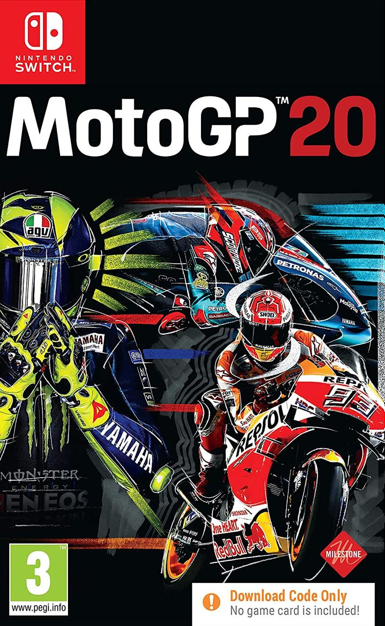 MotoGP 20 (англійська версія) Ninteno Switch