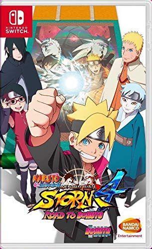 Naruto Shippuden Ultimate Ninja Storm 4 Road to Boruto (з російськими субтитрами) Nintendo Switch