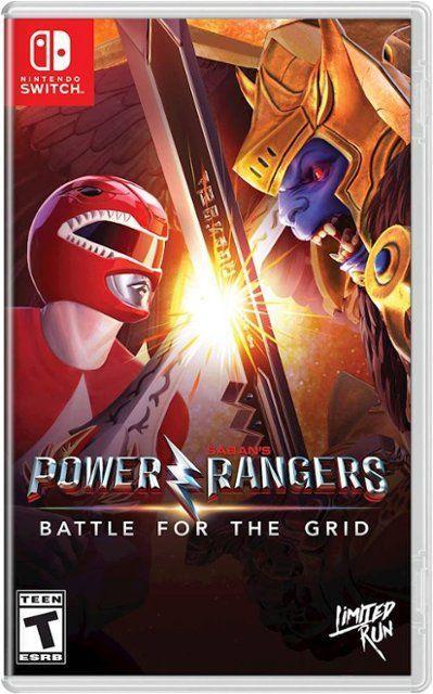 Power Rangers Battle for the Grid (англійська версія) Ninteno Switch