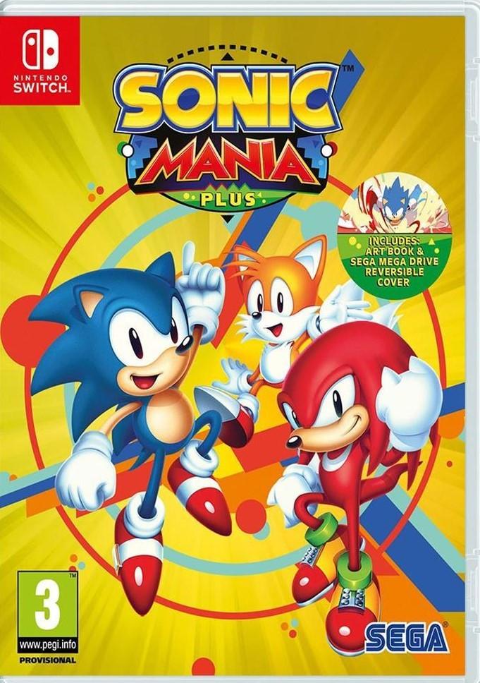 Sonic Mania Plus (английская версия) Ninteno Switch