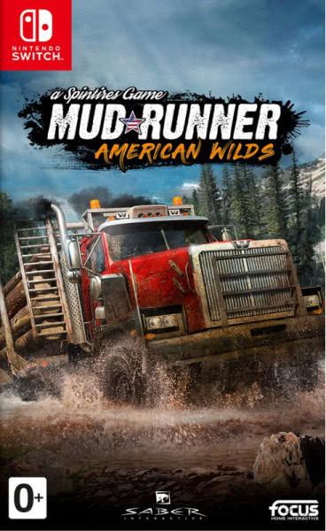 Spintires MudRunner American Wilds Edition (русские субтитры) Nintendo Switch