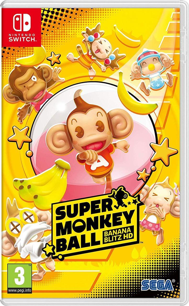 Super Monkey Ball Banana Blitz HD (англійська версія) Ninteno Switch
