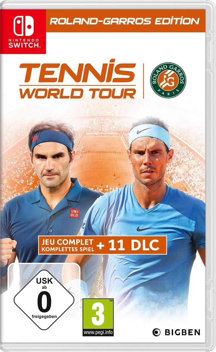 Tennis World Tour Roland-Garros Edition (русские субтитры) Nintendo Switch