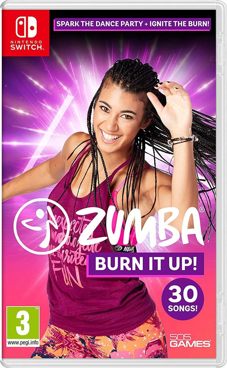 Zumba Burn it Up! (русская версия) Nintendo Switch