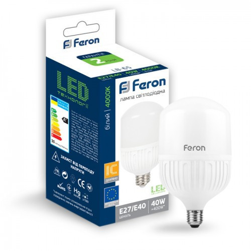 Светодиодная лампа Feron LB-65 40W E27-E40 4000K