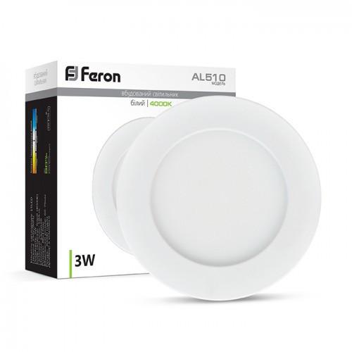 Светодиодный светильник Feron AL510 3W белый
