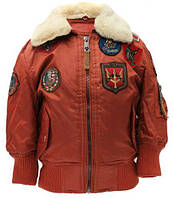 Дитяча куртка-бомбер Top Gun Kids B-15 Bomber Jacket TGKB15 (Rust)