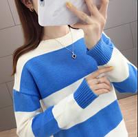 Стильный удобный женский свитер 42-44 размер, фото 2