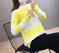 Стильный удобный женский свитер 42-44 размер, фото 3