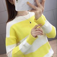Стильный удобный женский свитер 42-44 размер, фото 4