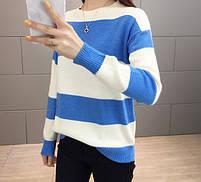 Стильный удобный женский свитер 42-44 размер, фото 5