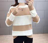 Стильный удобный женский свитер 42-44 размер, фото 6