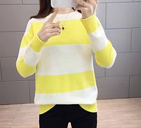 Стильный удобный женский свитер 42-44 размер, фото 7