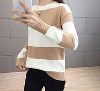 Стильный удобный женский свитер 42-44 размер, фото 8