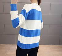 Стильный удобный женский свитер 42-44 размер, фото 9
