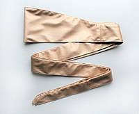 Женский пояс кушак широкий золотистый, фото 1