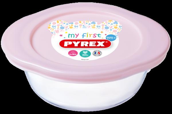 Форма PYREX BABY PINK 14х12х5 см