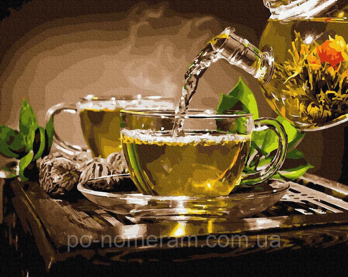 Картина по номерам Наслаждение чаем (BRM35227) 40 х 50 см