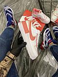 Женские кроссовки Nike Air Force 1 Shadow White Orange, женские кроссовки найк аир форс 1 шадоу, фото 2