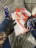 Женские кроссовки Nike Air Force 1 Shadow White Orange, женские кроссовки найк аир форс 1 шадоу, фото 4