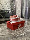 Женские кроссовки Nike Air Force 1 Shadow White Orange, женские кроссовки найк аир форс 1 шадоу, фото 7