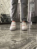 Женские кроссовки Nike Air Force 1 Shadow White Orange, женские кроссовки найк аир форс 1 шадоу, фото 8
