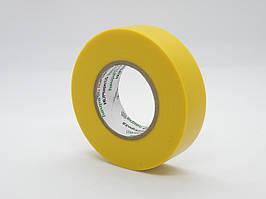 Изолента 19х20мм ПВХ (желтая) Haupa