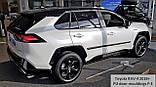 Toyota RAV-4 2018+ молдинги на двери, фото 4