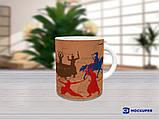 Чашки для мальчиков ко дню Защитника, козаки 2, фото 3