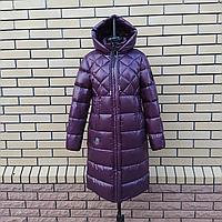 Женская зимняя куртка с капюшоном 46-54, фото 1