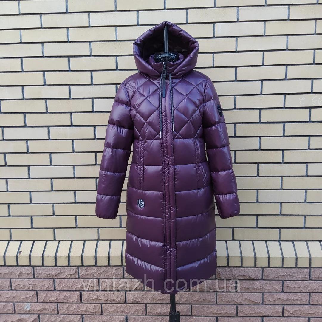Женская зимняя куртка с капюшоном 46-54
