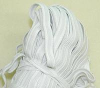 Белая резинка бельевая 8мм - Резинка для трусов и шитья (100м.)