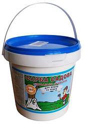 Краска садовая побелочная ЛКМ 1,4 кг