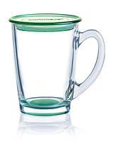Чашка с крышкой Luminarc New Morning Green, фото 1