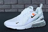 Кроссовки Nike Air Max 270 x Off White, кроссовки найк аир макс 270 офф вайт, кросівки Nike Air Max 270, фото 2