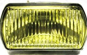 Фара противотуманная КамАЗ желтая в сборе 24В H3 ФПГ-106.00.01