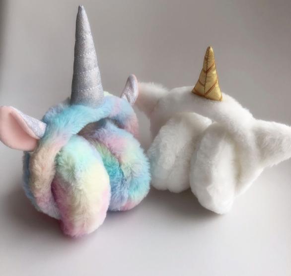 Хутряні навушники для дівчаток A fabulous unicorn