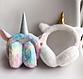 Хутряні навушники для дівчаток A fabulous unicorn, фото 2