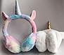 Хутряні навушники для дівчаток A fabulous unicorn, фото 3