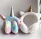 Хутряні навушники для дівчаток A fabulous unicorn, фото 5
